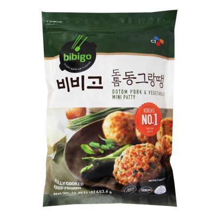 Bibigo Dotom Pork & Vegetable Mini Patty 16oz(453g)