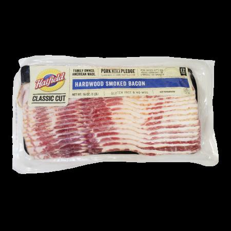 Hardwood Smoked Bacon 1lb(454g)
