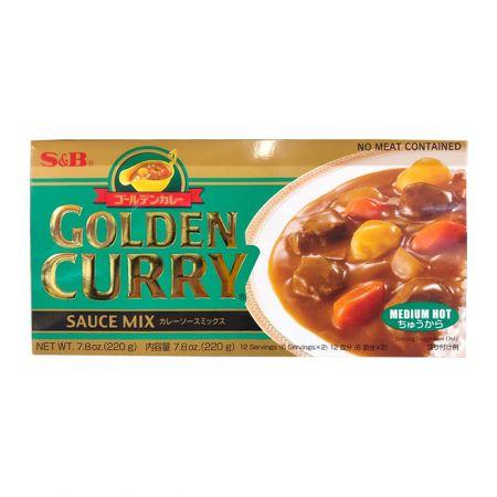 Golden Curry Sauce Mix Medium Hot 7.8oz(220g)
