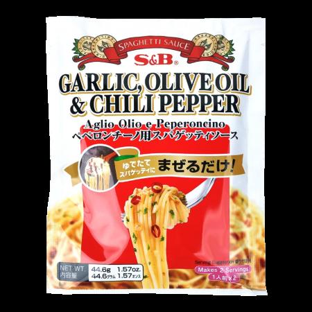 Spaghetti Sauce Garlic, Olive Oil & Chili Pepper 1.57oz(44.6g)