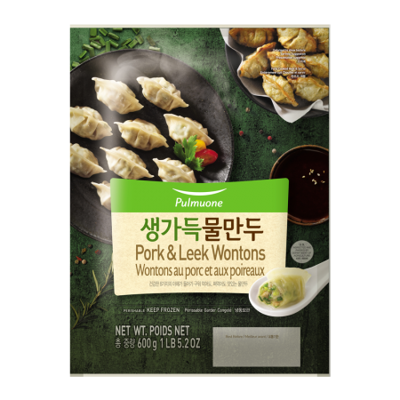 Pork & Leek Wontons 21.1oz(600g)