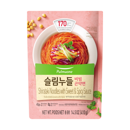 Shirataki Noodles with Sweet&Spicy Sauce 14.5oz(410g)
