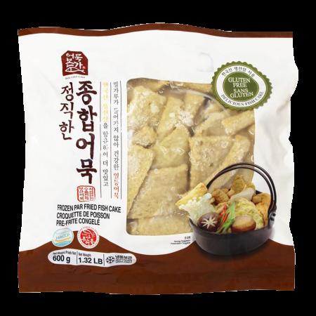 Gluten Free Assorted Fishcake 1.32lb(600g)