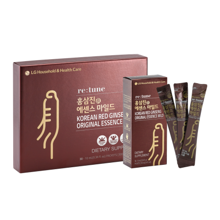 Korean Red Ginseng Original Essence Mild 0.34 fl.oz(10ml) x 30 Packets