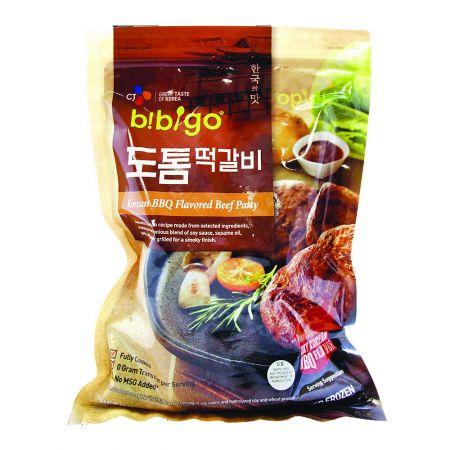 Bibigo Korean BBQ Flavored Beef Patty 16oz(453g)