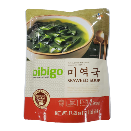 Bibigo Seaweed Soup 17.6oz(500g)