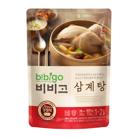 Bibigo Chicken Soup with Ginseng 28.2oz(800g)