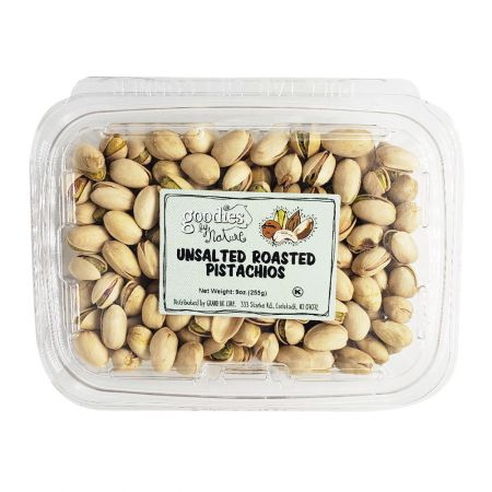 Unsalted Roasted Pistachios 9oz(255g)