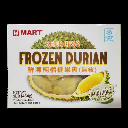 Frozen Durian (Seedless) 16oz(454g)