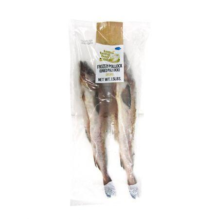 Whole Frozen Pollock (Dried Pollock) 1.5lb(680g)