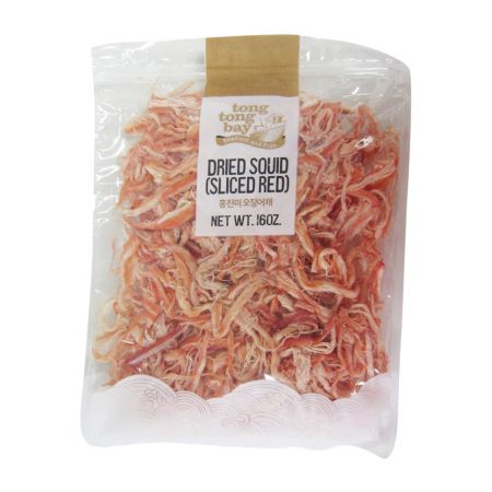 Dried Squid (Sliced Red) 16oz(453g)