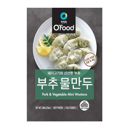 O'Food Pork & Vegetable Mini Wontons 1.5lb(680g)