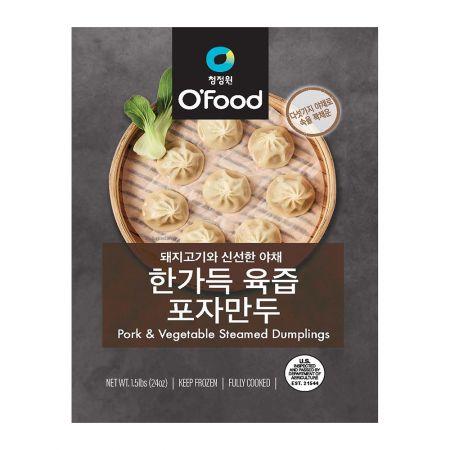 O'Food Pork & Vegetable Steamed Dumplings 1.5lb(680g)
