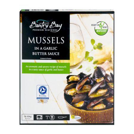 Mussels in Garlic Butter Sauce 1lb(454g)