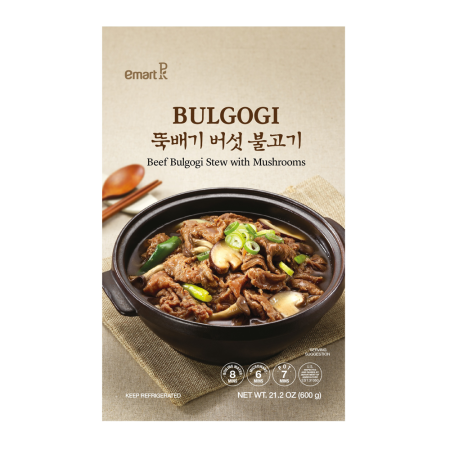 Beef Bulgogi Stew with Mushrooms 21.2oz(600g)