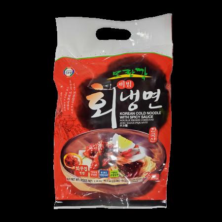 Morangak Korean Cold Noodle With Spicy Sauce 40.2oz(1.14kg)
