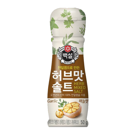 Seasoning Herb Salt Garlic flavor 1.77oz(50g)
