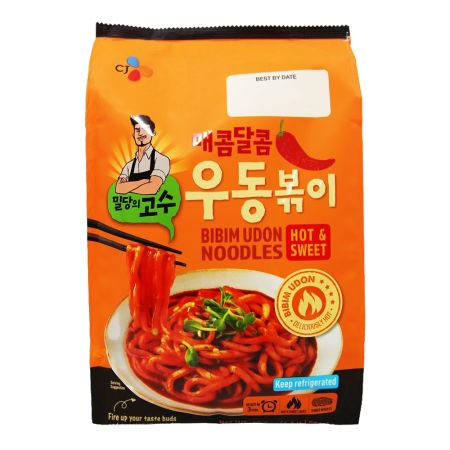 Bibim Udon Noodles Hot & Sweet 17.8oz(504g)