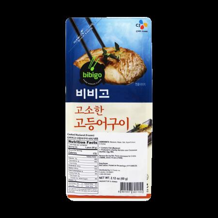 Bibigo Grilled Mackerel 2.12oz(60g)