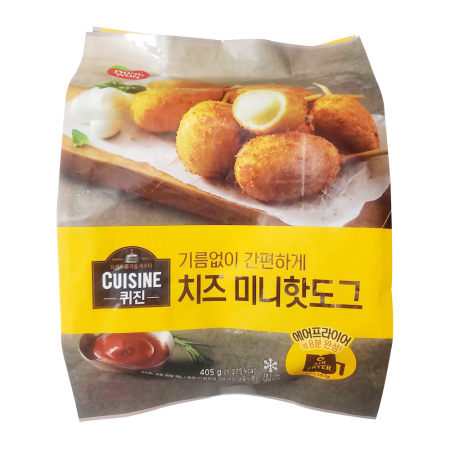 Cuisine Cheese Mini Hotdog 14.28oz(405g)