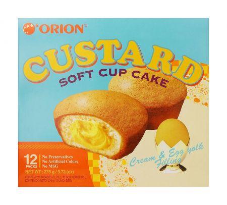 Custard 9.73oz(23g) 12 Packs