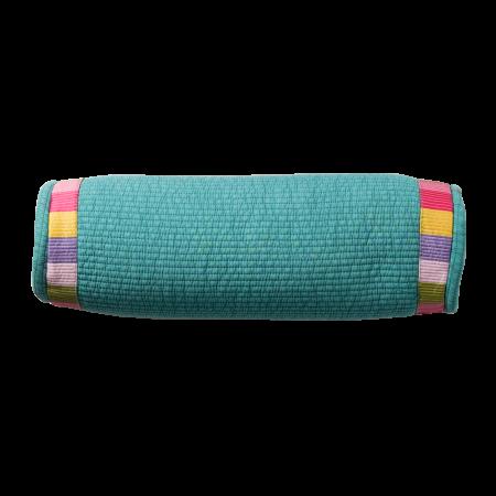 Korean-Style Round Buckweat Pillow(Green)