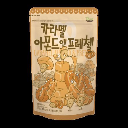 Caramel Almond & Pretzel 7.4oz(210g)