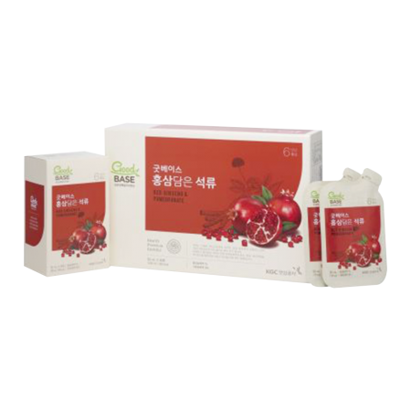 GoodBase Red Ginseng & Pomegranate 1.69oz(50ml) 30 Pouches