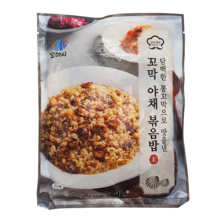 Frozen Beolgyo Cockle With Vegetable Fried Rice 6.35oz(180g)