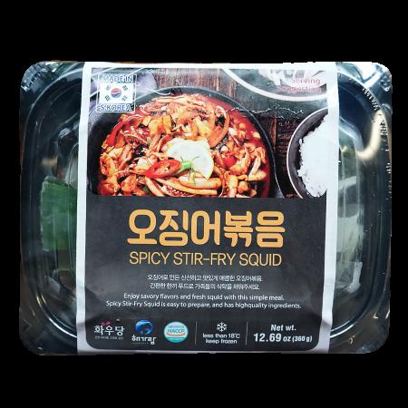 Spicy Stir-Fry Squid 12oz(360g)