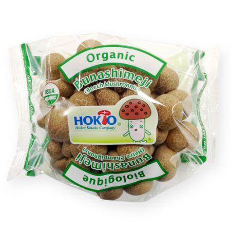 Organic Bunashimeji Brown Beech Mushroom 3.5oz(100g)