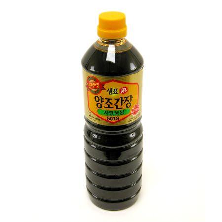 Premium Yangjo Soy Sauce 501 S 31.4oz(930ml)