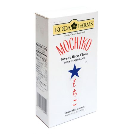 Koda Farms Mochiko Sweet Rice Flour 1lb 16oz 코다팜 모치코 찹쌀 가루 1lb 16oz