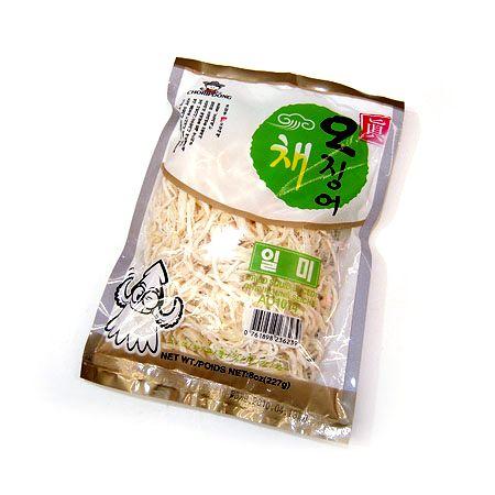 Dried Squid Sliced 8oz(227g)