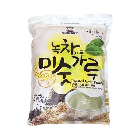 Roasted Grain Powder with Green Tea 2.2lb(1kg)