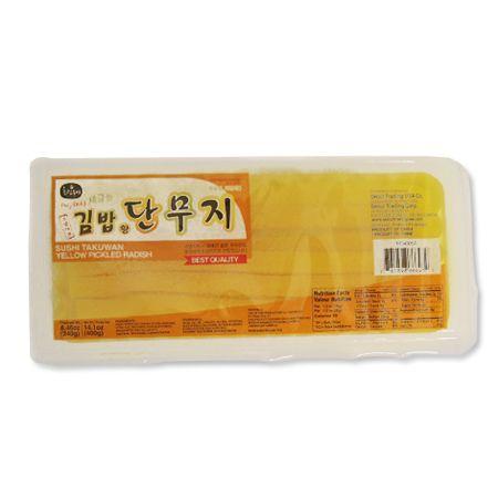 Yellow Pickled Radish (Sushi Takuwan) 14.1oz(400g)