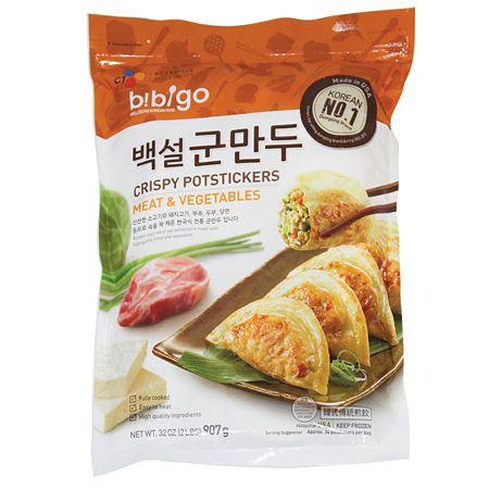 Bibigo Crispy Potstickers Meat & Vegetable 32oz(907g)