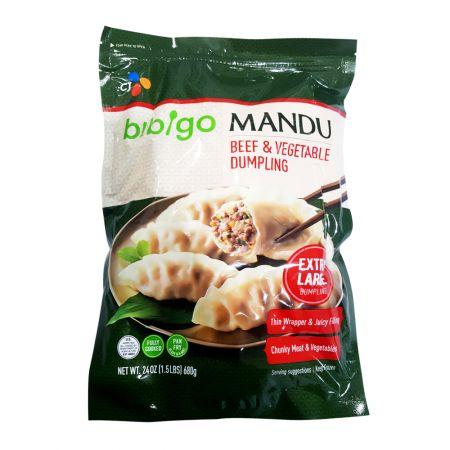 Beef Vegetable Extra Large Dumpling 24oz(680g)