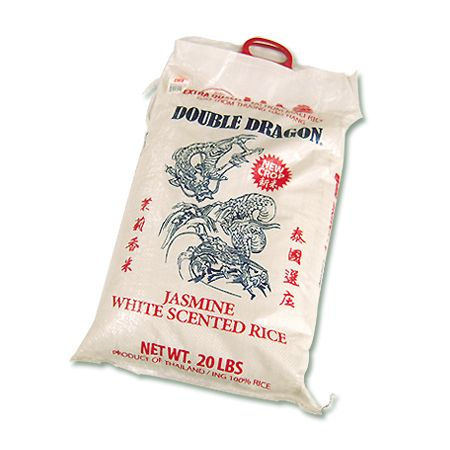Jasmine White Scented Rice - 20Lbs