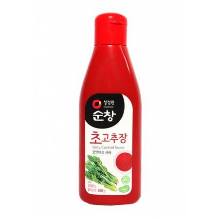 Vinegar Red Pepper Paste 1.1lb(500g)