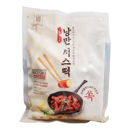 Korean Fusion Rice Cake with Cheese 21.16oz(600g)