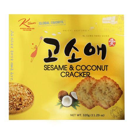 Sesame Coconut Cracker Big Size 11.29oz(320g)