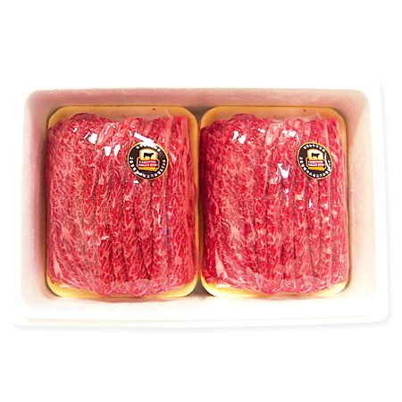 Certified Angus Beef Gift Set - Sliced Short Ribs (LA Style) 4LBS x 2 Packs