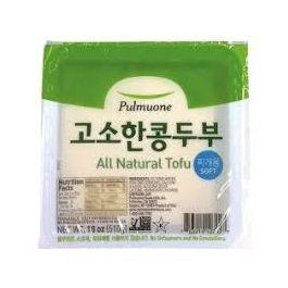 All Natural Soft Tofu 18oz(510g)