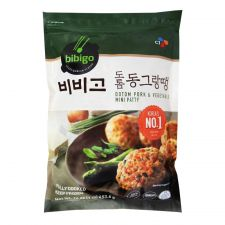 CJ Bibigo Dotom Pork & Vegetable Mini Patty 16oz(453g),씨제이 비비고 도톰 동그랑땡 16oz(453g)