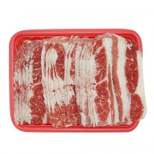 Frozen Beef Sliced Short Plate 1.5lb(680g), 냉동 우삼겹살 1.5lb(680g)