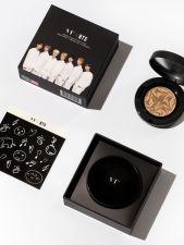 VT X BTS Collagen Pact Black #23, VT X BTS  콜라겐 팩트 블랙 23호