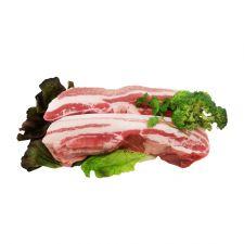 Pork Rind On Belly Chunk 2lb(907g), 생삼겹살 (수육용) 2lb(907g)