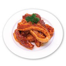 Marinated Pork Sliced Single Belly 2lb(907g), 양념 벌집 삼겹살 2lb(907g)
