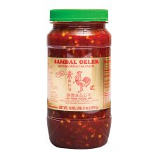 Huy Fong Foods Sambal Oelek Ground Fresh Chili Paste 18oz(510g), Huy Fong Foods 삼발 소스 18oz(510g)